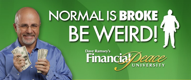 dave ramseys financial peace class Already have an account with us if you have taken a class with us before, created an account in the dave ramsey store or have signed up for everydollar, chances are you already have an account.